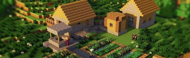 деревня жителей